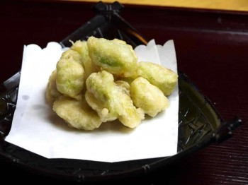 そら豆天ぷら